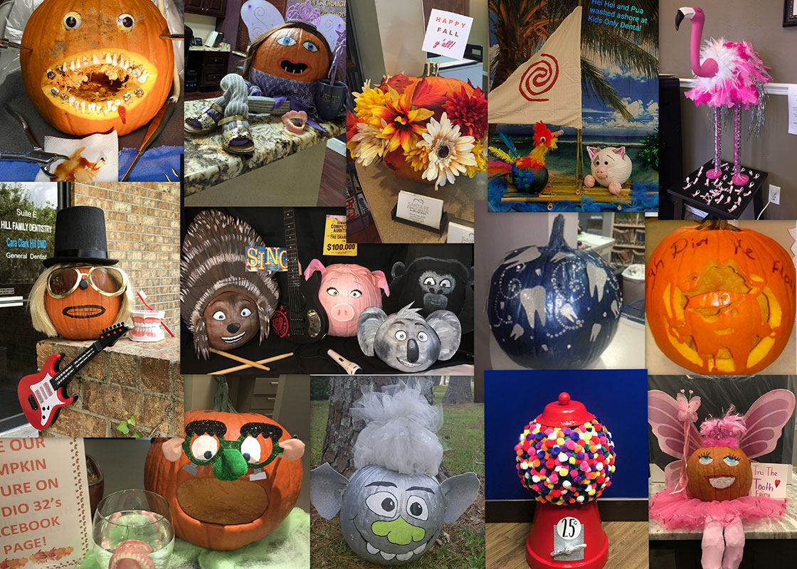 4th Annual Pumpkin Contest